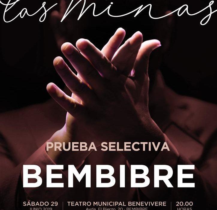 Cartel de la prueba del Festival Cante de las Minas en Bembibre
