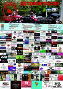 Cartel concetración motera en Toral de los Vados
