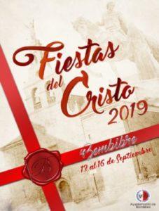 Cartel de las Fiestas del Cristo 2019