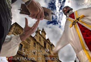 Cartel de las fiestas del Cristo en Villafranca